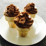 Chocolate Ice Cream Cupcakes