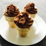 Chocolate Ice Cream Cupcakes