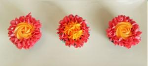 Hydranga Cupcakes x2