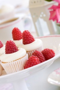 Vodka and Raspberry Cupcakes
