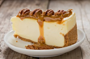 Salted Caramel and Vanilla Cheesecake pic